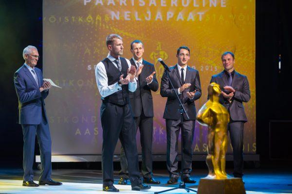 Aasta võistkond 2015 - sõudmise paarisaeruline neljapaat